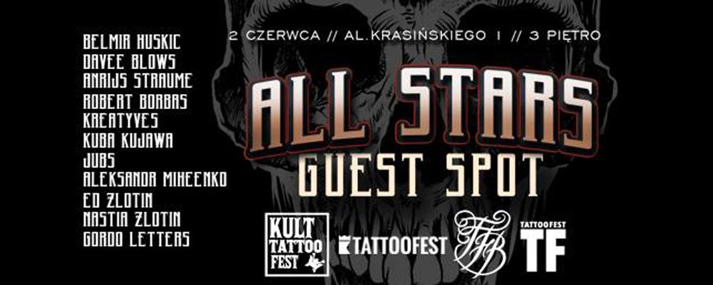 All Stars Guest Spot Kult Tattoofest 2 Czerwca