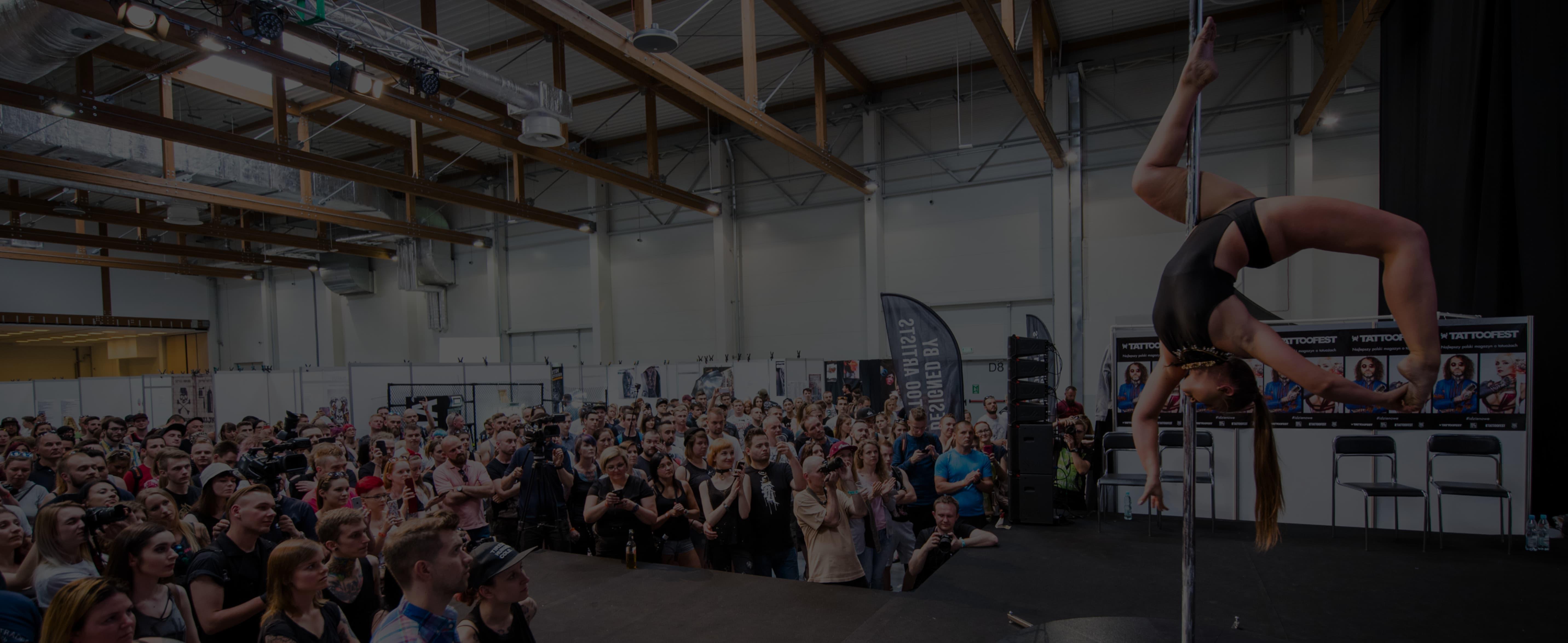Goscie i Atrakcje - Tattoofest Convention Festiwal Tatuazu 2018 Krakow