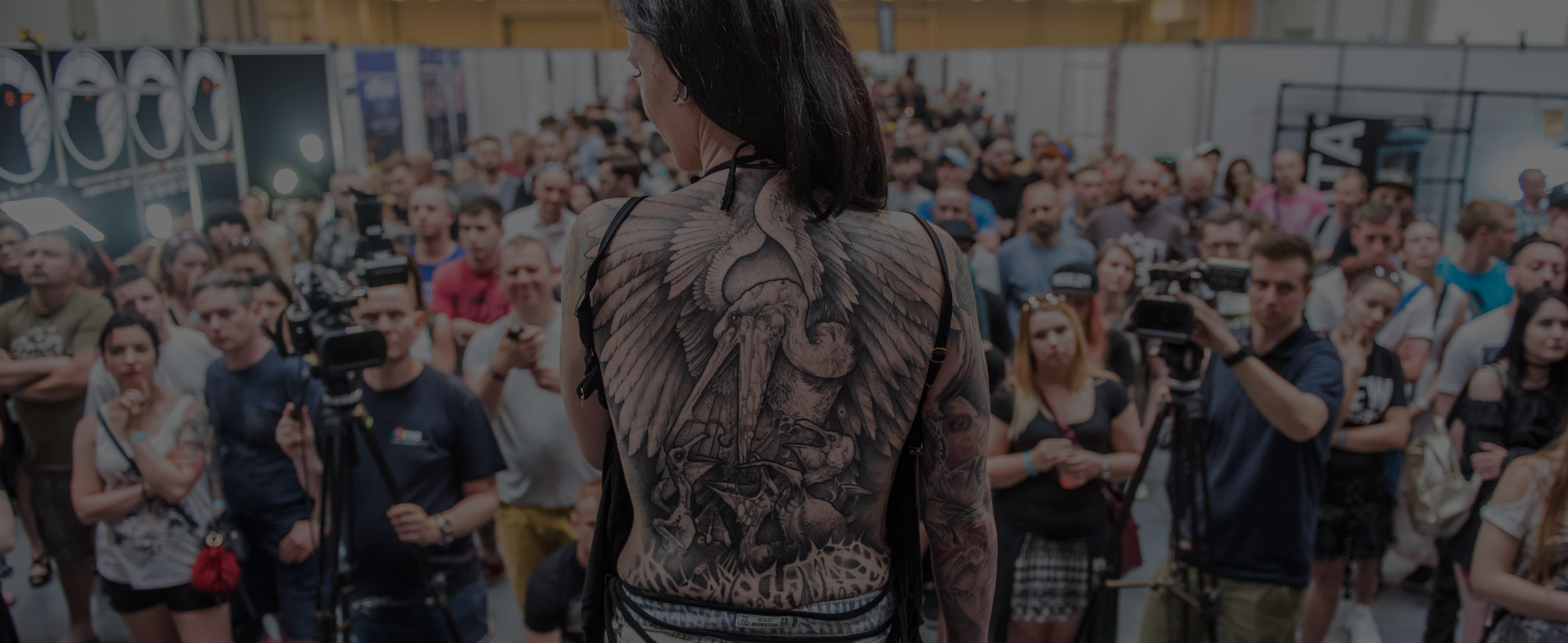 Konkurs Tatuazu Tattoofest Convention Festiwal 2018 Krakow